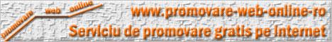 Promovare web site online pe internet